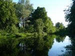 Вид на небольшое озерцо